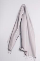 Pashmina 70x200cm silver gray