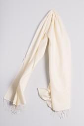 Pashmina 70x200cm wool white
