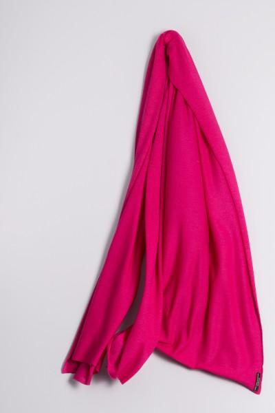 Kaschmirstola Feinstrick pink