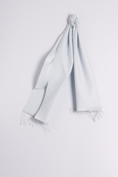 Pashmina 30x150cm light blue