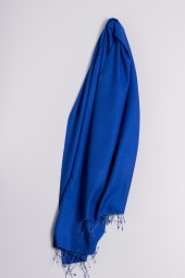 Pashmina 90x200cm royal blue