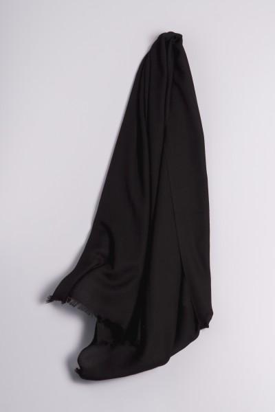 Ring-Shawl black