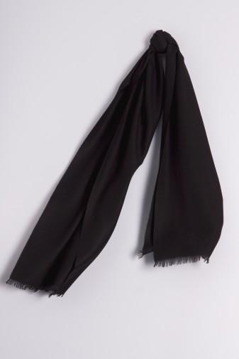 Pashmina 45x180cm schwarz