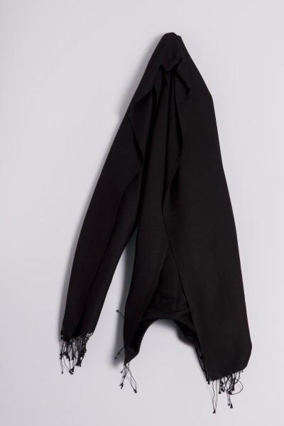 Pashmina 90x200cm schwarz