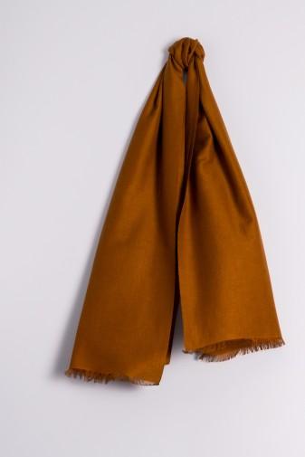 Pashmina 45x180cm bronze brown