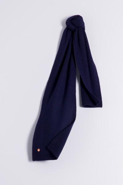 Child's cashmere scarf navy