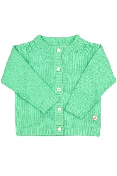 Baby Strickjacke Jersey mint