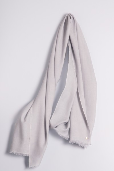 Ring-Shawl silver gray