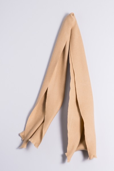Winter Scarf 100% Cashmere camel