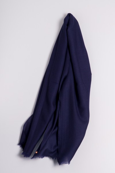 Ring-Shawl navy