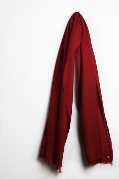 Ring-Pashmina tibetian red