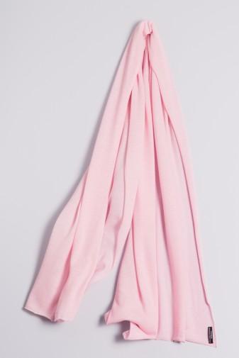 Kaschmirstola Feinstrick rosé