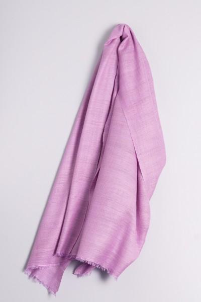 Hand spun Shawl lilac