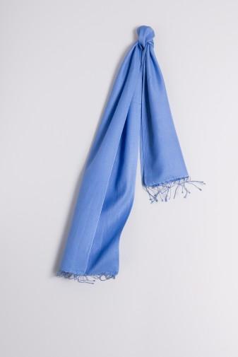 Pashmina 30x150cm himmelblau