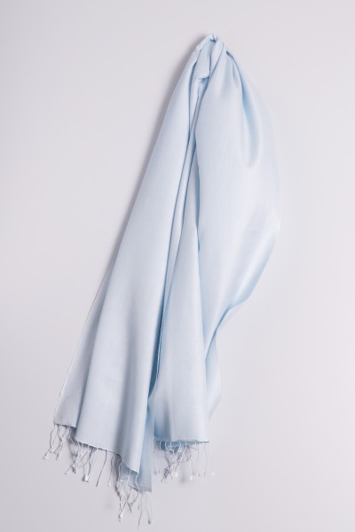 Pashmina 70x200cm light blue