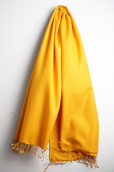 Pashmina 90x200cm tibetan yellow
