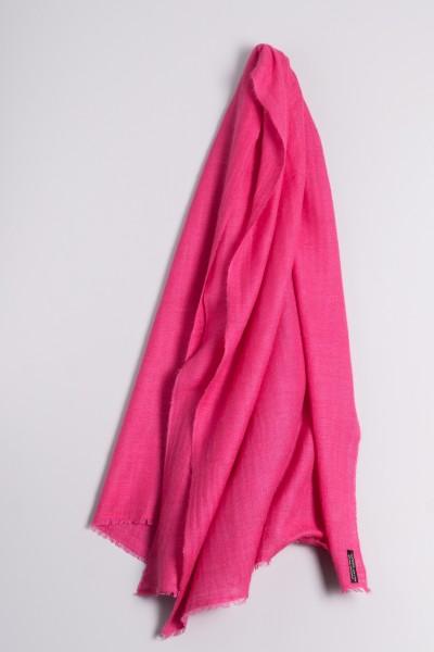 Kaschmirschal handspun pink