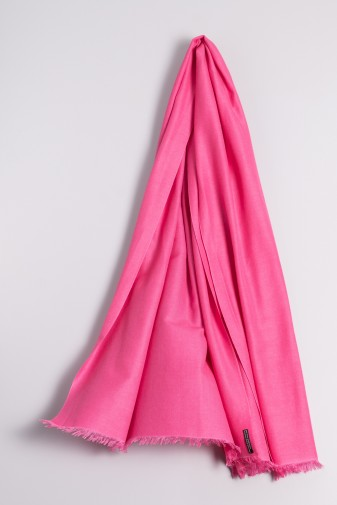 Pashmina Couture raspberry pink