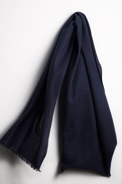 Pashmina 100% Kaschmir blue nights