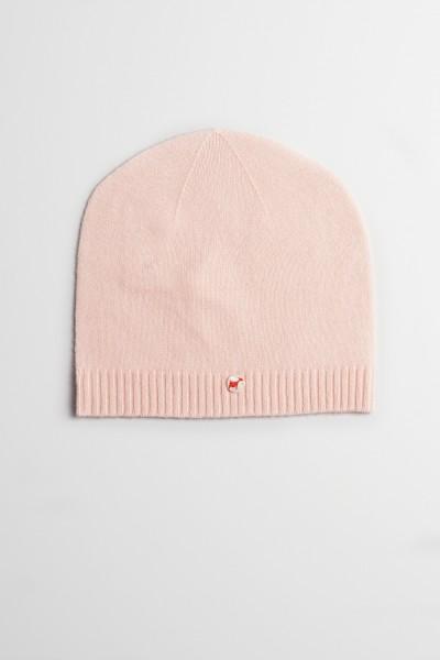 Kaschmirmütze Feinstrick baby pink