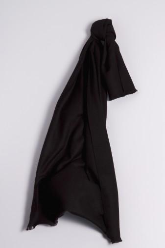 Pashmina Schal 100% Kaschmir schwarz