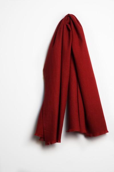 Pashmina Schal 100% Kaschmir tibetian red