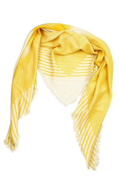Carré Striped Maria cyber yellow