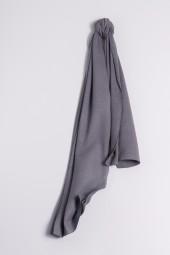 Fine knit cashmere scarf