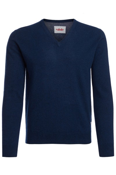Men's V-neck cashmere sweater astral