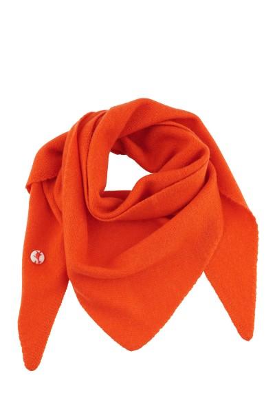 Triangle 100% Kaschmir dark orange
