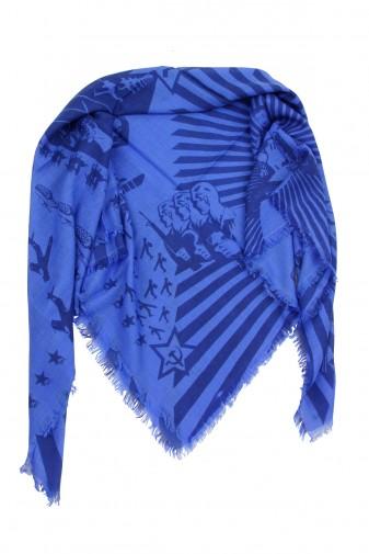 Carré Sowjet dazzling blue / olympian blue