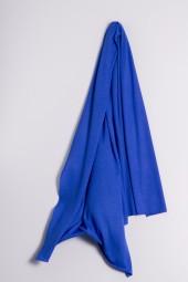 Kaschmirstola Feinstrick dazzling blue