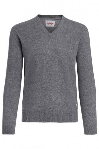 Kaschmirpullover Men derby grey