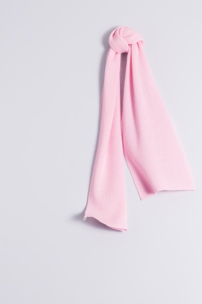 Child's cashmere scarf rose