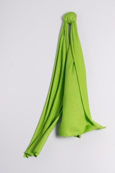 Kaschmirschal Feinstrick grasgrün
