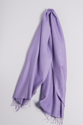 Pashmina 70x200cm lavendel