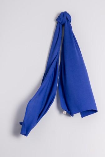 Kaschmirschal Feinstrick dazzling blue