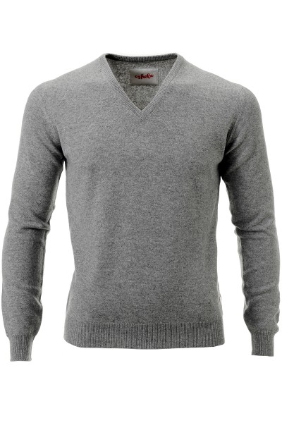 Kaschmirpullover Men grey