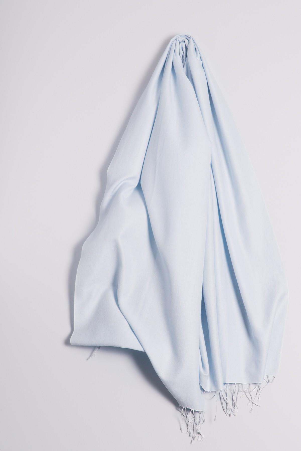Pashmina 90x200cm light blue