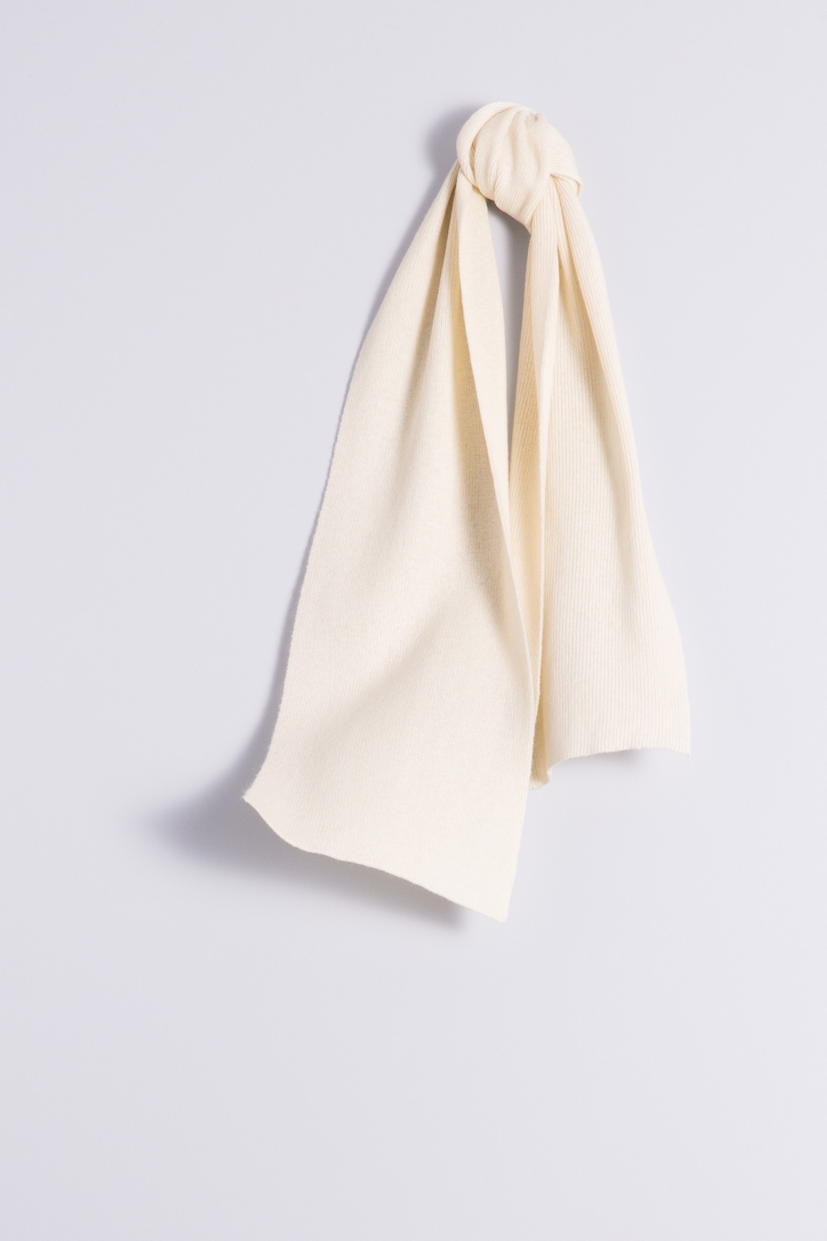 Child's cashmere scarf creme