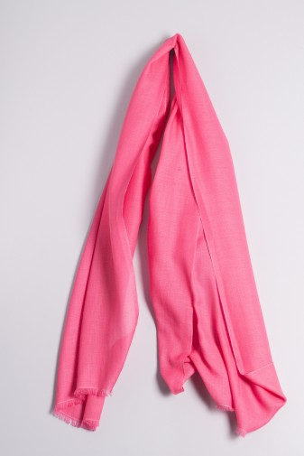 Ring-Shawl rasberry pink