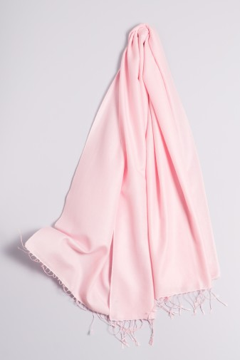 Pashmina 90x200cm rosé