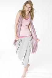 Jersey Silk Scarf keepsake lilac