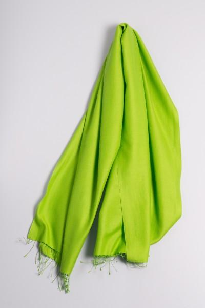 Pashmina 90x200cm grasgrün