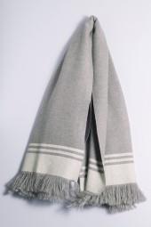 Kaschmirplaid grey melange