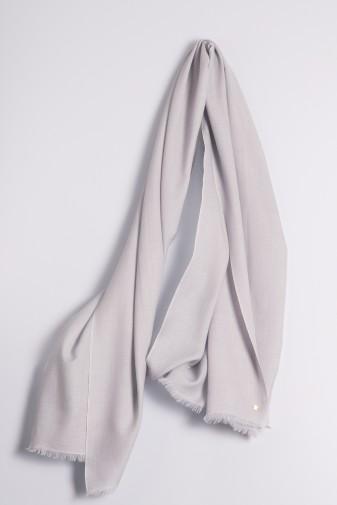 Ring-Shawl silver gray
