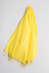 Pashmina 90x200cm yellow