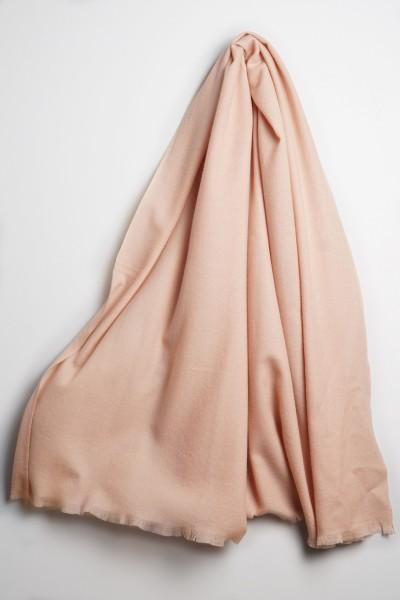 Pashmina 100% Kaschmir cameo rosé