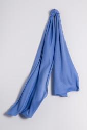 Kaschmirschal Feinstrick himmelblau
