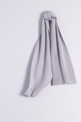 Kinderschal 100% Kaschmir grau